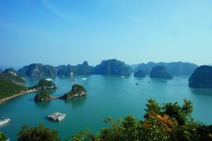 Halon Bay au Vietnam